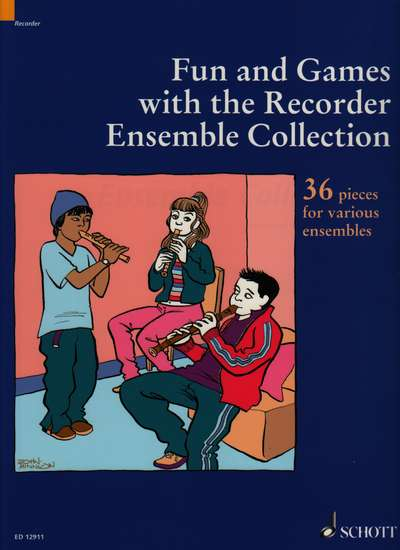 photo of Fun and Games with the Recorder, Ensemble Collection, 36 pieces
