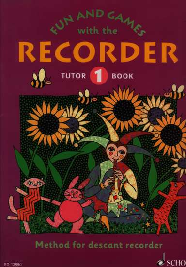 photo of Fun and Games with the Recorder, Tutor Book 1, Soprano