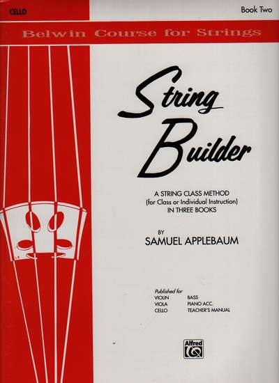 photo of String Builder, Cello, Book Two