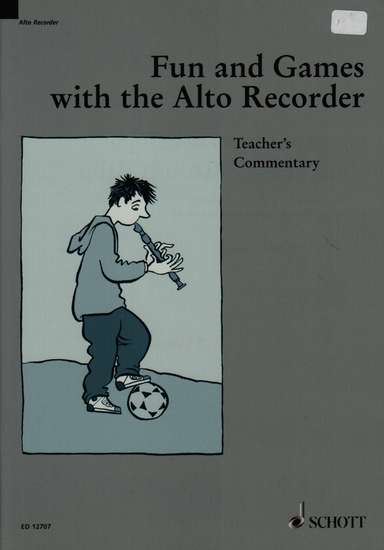 photo of Fun and Games with the Alto Recorder, Teacher