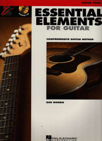 photo of Essential Elements for Guitar, Book 2, CD