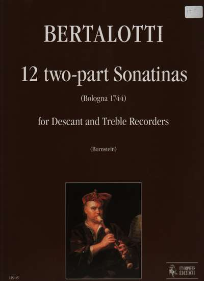 photo of 12 two-part Sonatinas, Bologna 1744