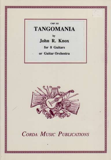 photo of Tangomania for 8 guitars or Guitar Orchestra