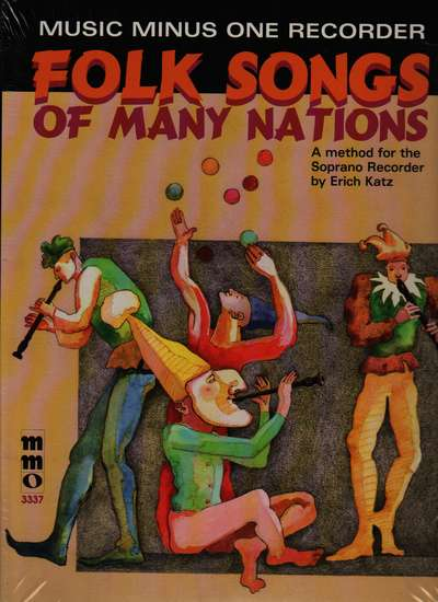 photo of Folk Songs of Many Nations, A method for Soprano Recorder, Music minus One