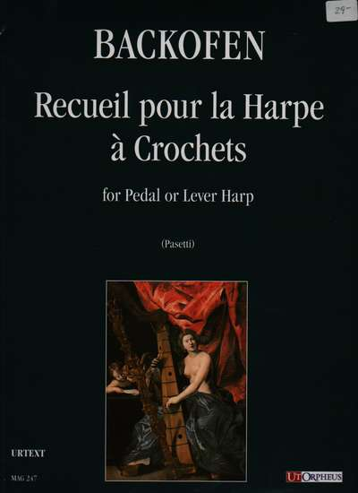 photo of Recueil pour la Harpe a Crochets for Pedal or Lever Harp