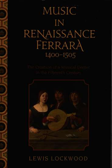 photo of Music in Renaissance Ferrara 1400-1505