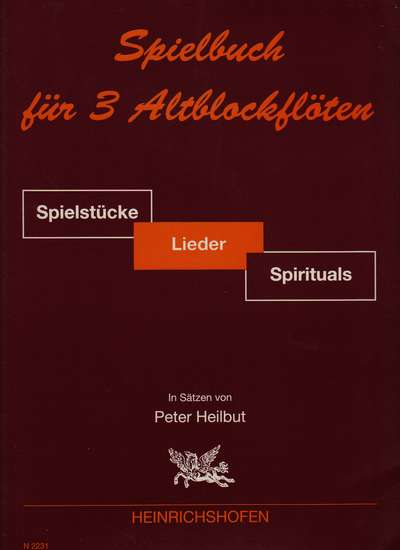 photo of Spielbuch for 3 Alto recorders