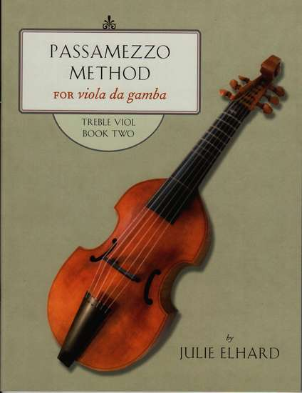 photo of Passamezzo Method for viola da gamba, Treble Viol, Book Two