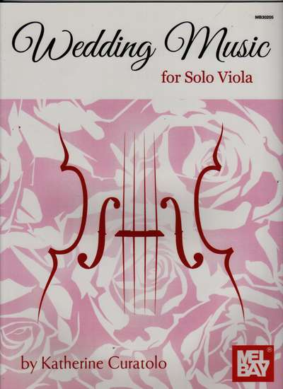 photo of Wedding Music for Solo Viola
