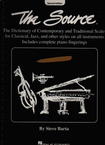 photo of The Source, The dictionary of Contemporary and Traditional Scales