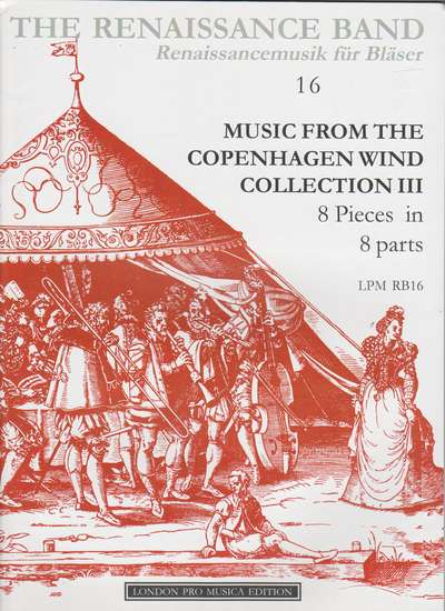 photo of Music from the Copenhagen Wind Collection II, 8 pieces in 8 parts