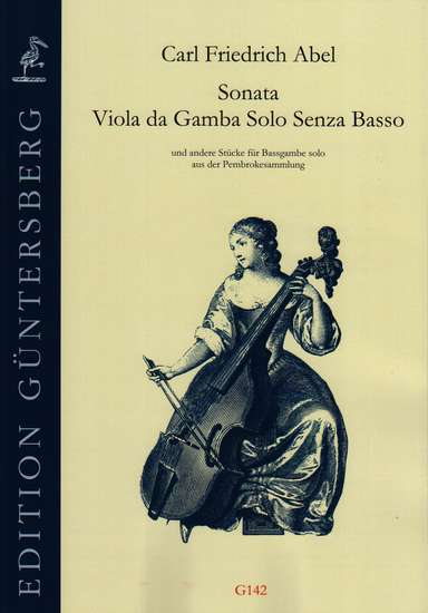 photo of Sonata, Viola da Gamba solo Senza Basso from the Pembroke Collection WKO 153-155