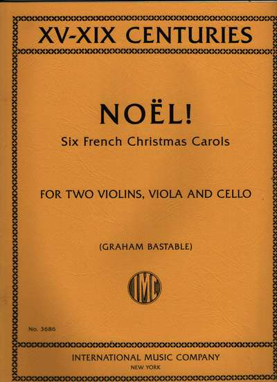 six french christmas carols for string quartet