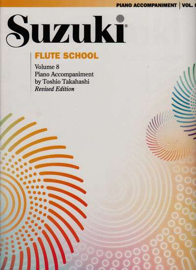photo of Suzuki Flute School, Vol. 8, Acc., 2003