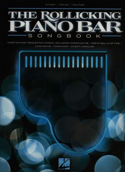 photo of The Rollicking Piano Bar Songbook, 59 most requested songs
