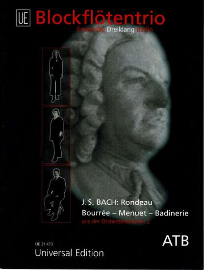 photo of Rondeau, Bourree, Menuet, Badinerie from Orchestra Suite No. 2, BWV 1067
