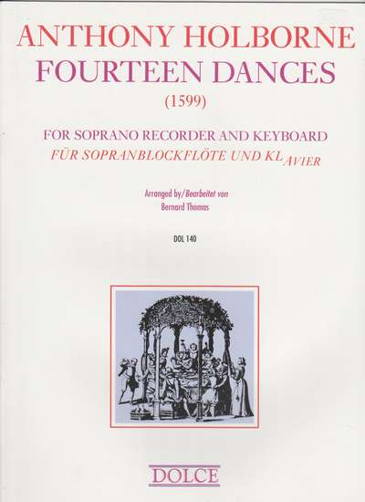 photo of Fourteen Dances for Recorder and Keyboard