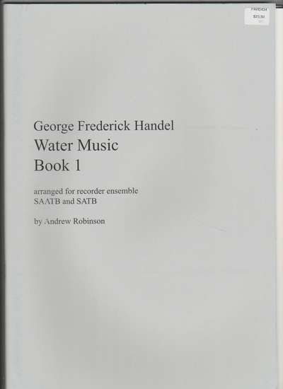 photo of Water Music, Suite I