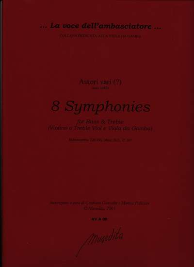 photo of 8 Symphonies for Bass and Treble