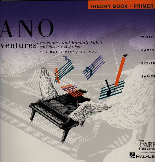 photo of Piano Adventures, Theory Book, Primer Level, Second edition