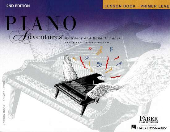 photo of Piano Adventures, Lesson Book, Primer, Second edition