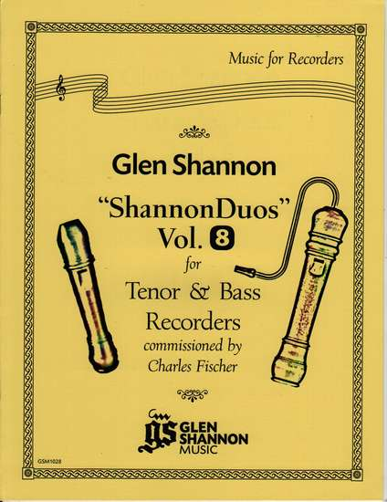 photo of Shannon Duets, Vol. 8 for Tenor & Bass