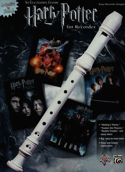photo of Selections from Harry Potter for Recorder