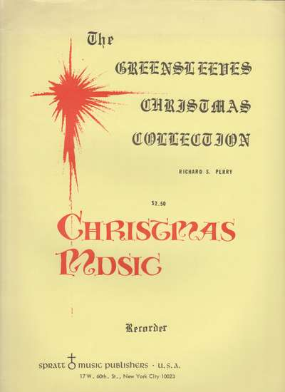 photo of The Greensleeves Christmas Collection