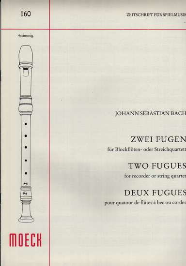 photo of Two Fugues, BWV 560, 554