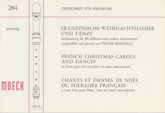 french christmas carols and dances