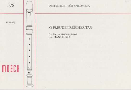 photo of O Freudenreicher Tag, Songs of Christmas