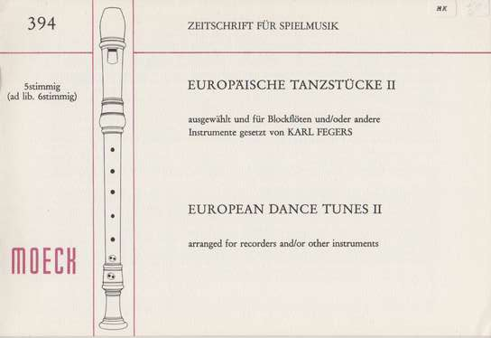 photo of European Dance Tunes II