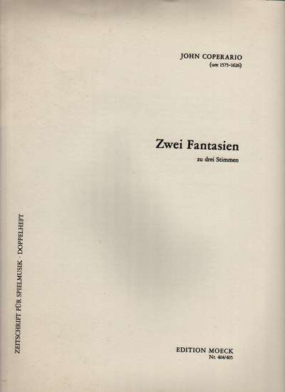 photo of Zwei Fantasien, Two Fantasies