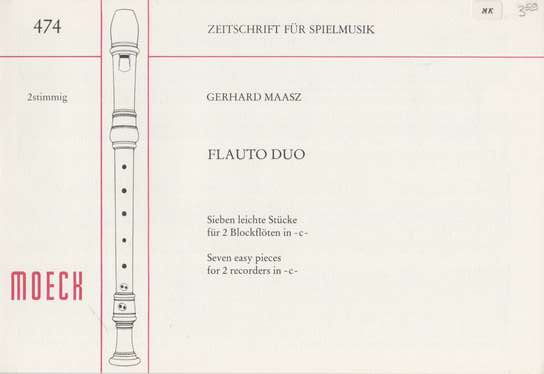 photo of Flauto Duo, Seven easy pieces