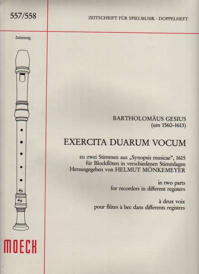 photo of Exercita Duarum Vocum from Synopsis musicae
