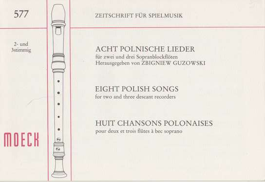 photo of Eight Polish Songs