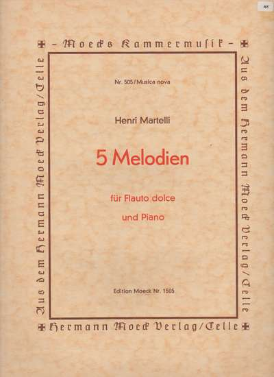 photo of 5 Melodien