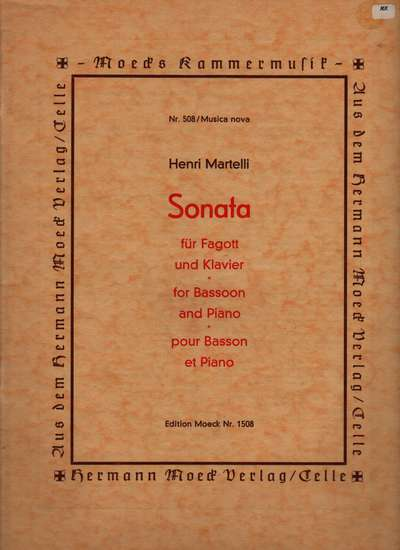 photo of Sonata, Op. 50