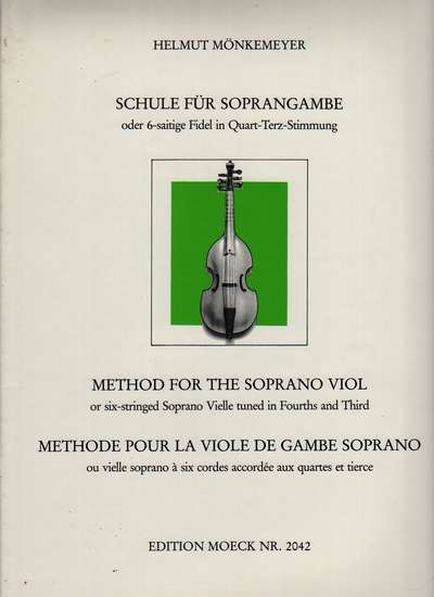 photo of Method for the Treble Viol