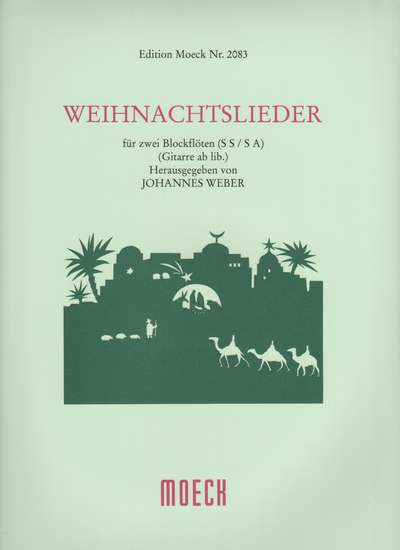 photo of Weihnachtslieder, 23 Christmas Songs with German texts