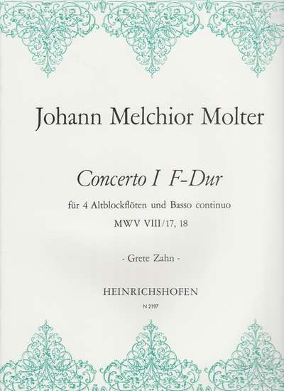 photo of Concerto I F major, MWV VIII/17, 18