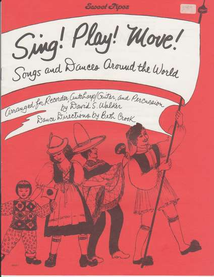 photo of Sing! Play! Move! Songs and Dances Around the World, Dance Directions