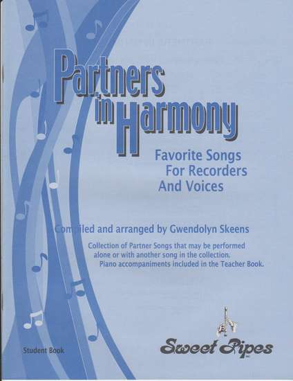 photo of Partners in Harmony, Favorite Songs for Recorders and voices, Student book
