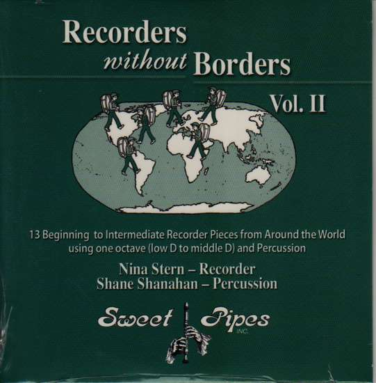 photo of Recorders without Borders, 13 one octave pieces, vol. 2 CD