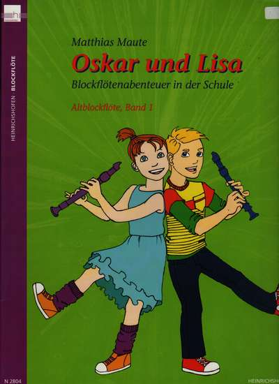 photo of Oskar und Lisa, Recorder Adventure in School, Book 1, Alto, Student book