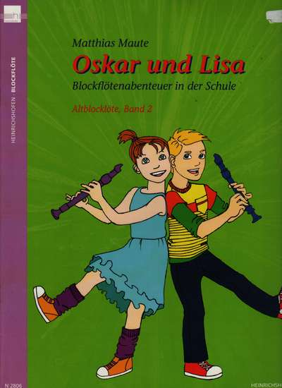 photo of Oskar und Lisa, Recorder Adventure in School, Book 2, Atlo, Student book