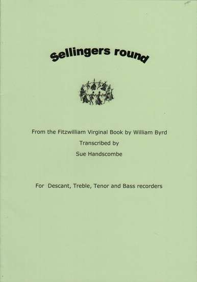 photo of Sellingers round from the Fitzwilliam Virginal Book