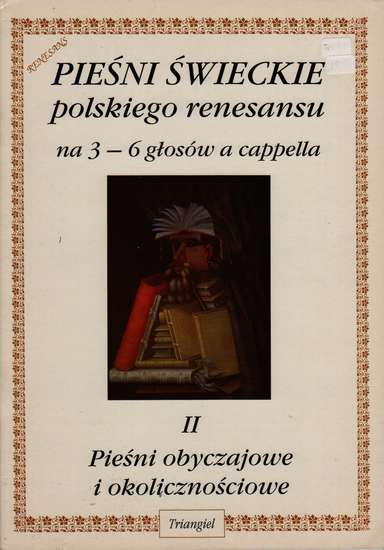photo of Secular Songs of the Polish Renaissance II