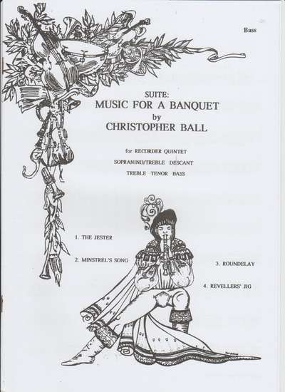 photo of Music for a Banquet, parts set