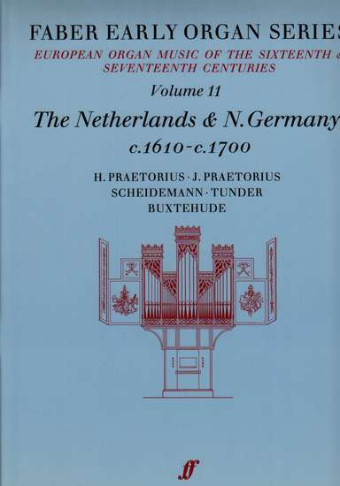 photo of European Organ Music of 16th and 17th cent, Vol 11, Netherlands and N. Germany